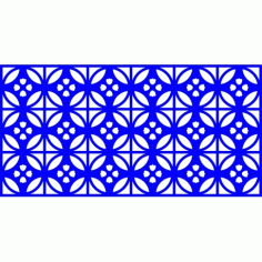 Cnc Panel Laser Cut Pattern File cn-l548 Free CDR Vectors Art