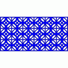 Cnc Panel Laser Cut Pattern File cn-l546 Free CDR Vectors Art