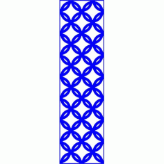 Cnc Panel Laser Cut Pattern File cn-l540 Free CDR Vectors Art