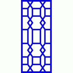 Cnc Panel Laser Cut Pattern File cn-l539 Free CDR Vectors Art