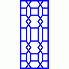 Cnc Panel Laser Cut Pattern File cn-l538 Free CDR Vectors Art