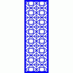 Cnc Panel Laser Cut Pattern File cn-l532 Free CDR Vectors Art