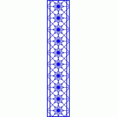 Cnc Panel Laser Cut Pattern File cn-l523 Free CDR Vectors Art