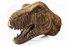 Head Of Dinosaur Free CDR Vectors Art