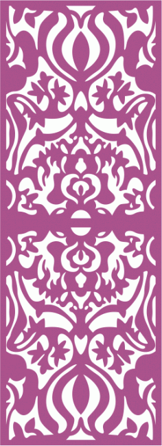 Laser Cut Decorative Screens Pattern Free CDR Vectors Art
