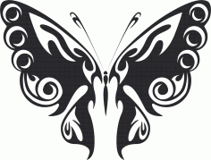 Butterfly Vector Art 047 Free CDR Vectors Art