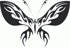 Butterfly Vector Art 013 Free CDR Vectors Art