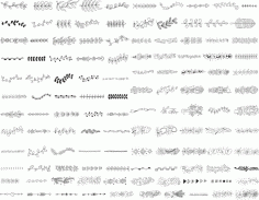 Handdrawn Elements Free CDR Vectors Art