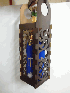 Laser Cut Korobka Pod Shampanskoe Free CDR Vectors Art