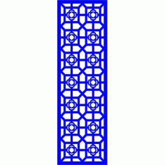 Cnc Panel Laser Cut Pattern File cn-l509 Free CDR Vectors Art