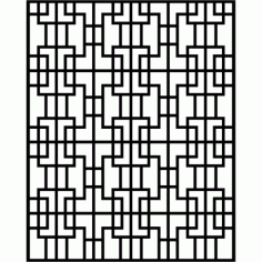 Cnc Panel Laser Cut Pattern File cn-l501 Free CDR Vectors Art