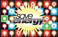 Save Energy Free CDR Vectors Art