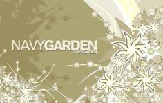Composition Navy Garden Free CDR Vectors Art