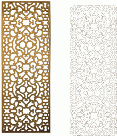 Ornamental CNC Pattern Collection Free CDR Vectors Art