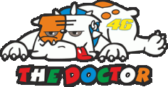 Thedoctor Rossi 46 Dog Logo Free CDR Vectors Art
