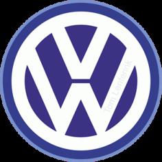 Vw Volkswagen Logo Free CDR Vectors Art