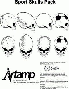 Movement Elements Skull Free CDR Vectors Art