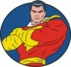 Captain Marvel Clip Art Free CDR Vectors Art
