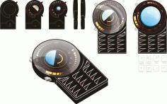 Mobile Phone Clipart Mobila Free CDR Vectors Art