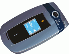 Mobile Phone Clipart Nec Free CDR Vectors Art