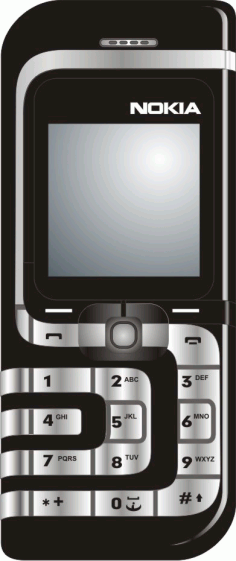 Mobile Phone Clipart Nokia Black Free CDR Vectors Art