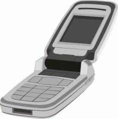 Mobile Phone Clipart Tryba Free CDR Vectors Art