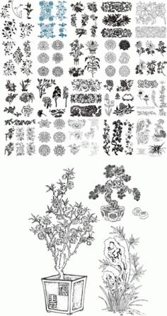 49 Kinds Of Patterns Free CDR Vectors Art