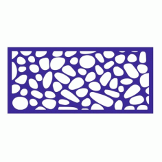 Cnc Panel Laser Cut Pattern File cn-l479 Free CDR Vectors Art
