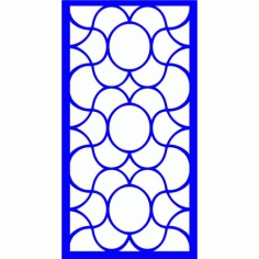 Cnc Panel Laser Cut Pattern File cn-l477 Free CDR Vectors Art