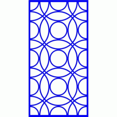 Cnc Panel Laser Cut Pattern File cn-l475 Free CDR Vectors Art