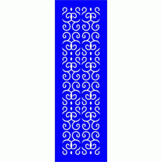 Cnc Panel Laser Cut Pattern File cn-l472 Free CDR Vectors Art