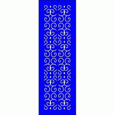 Cnc Panel Laser Cut Pattern File cn-l471 Free CDR Vectors Art