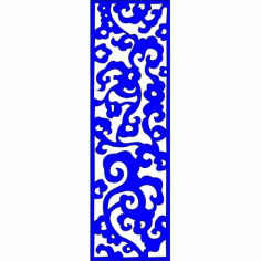 Cnc Panel Laser Cut Pattern File cn-l463 Free CDR Vectors Art