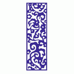Cnc Panel Laser Cut Pattern File cn-l462 Free CDR Vectors Art