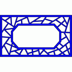 Cnc Panel Laser Cut Pattern File cn-l456 Free CDR Vectors Art