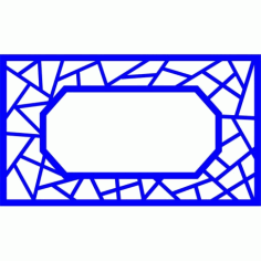 Cnc Panel Laser Cut Pattern File cn-l455 Free CDR Vectors Art