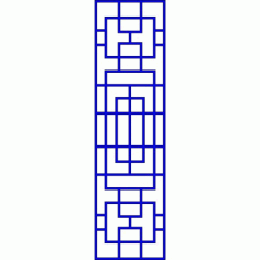 Cnc Panel Laser Cut Pattern File cn-l446 Free CDR Vectors Art