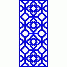 Cnc Panel Laser Cut Pattern File cn-l443 Free CDR Vectors Art