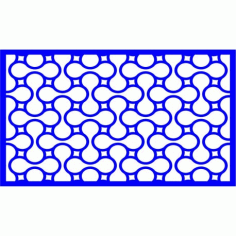 Cnc Panel Laser Cut Pattern File cn-l441 Free CDR Vectors Art