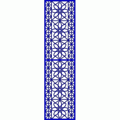 Cnc Panel Laser Cut Pattern File cn-l429 Free CDR Vectors Art