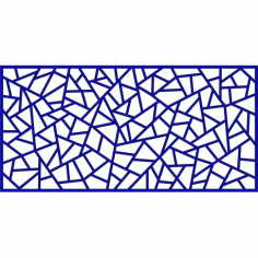 Cnc Panel Laser Cut Pattern File cn-l418 Free CDR Vectors Art
