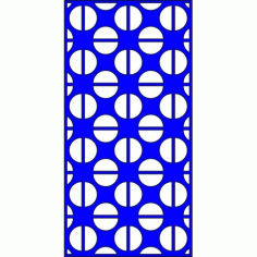 Cnc Panel Laser Cut Pattern File cn-l413 Free CDR Vectors Art