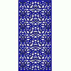Cnc Panel Laser Cut Pattern File cn-l394 Free CDR Vectors Art
