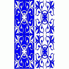 Cnc Panel Laser Cut Pattern File cn-l388 Free CDR Vectors Art