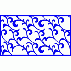 Cnc Panel Laser Cut Pattern File cn-l380 Free CDR Vectors Art