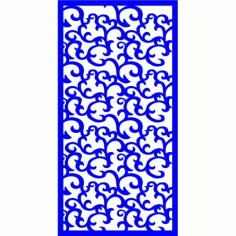Cnc Panel Laser Cut Pattern File cn-l379 Free CDR Vectors Art