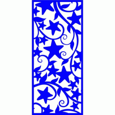 Cnc Panel Laser Cut Pattern File cn-l376 Free CDR Vectors Art
