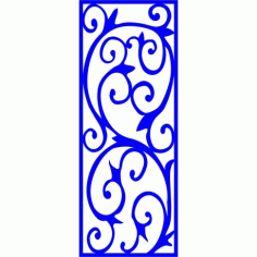 Cnc Panel Laser Cut Pattern File cn-l374 Free CDR Vectors Art