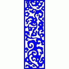 Cnc Panel Laser Cut Pattern File cn-l373 Free CDR Vectors Art