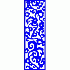 Cnc Panel Laser Cut Pattern File cn-l372 Free CDR Vectors Art